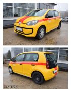 Latvenergo emergency service - Volkswagen up