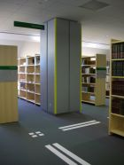 National Library of Latvia - Floor decals - Labels for visually impaired